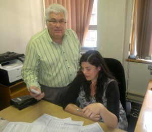 Safety and security spokesperson Bobby Stevenson and researcher Cecile Greyling ponder the latest crime statistics.