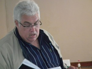 Bobby Stevenson reflects on the challenges facing the province on the road to the general election in 2014 during a recent teambuilding session in Port Alfred