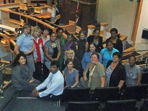DA staff from the provincial office in Port Elizabeth and from constituency offices around the province attended the debate on the State of the Province Address in the Bhisho Legislature on Tuesday, 21 February.