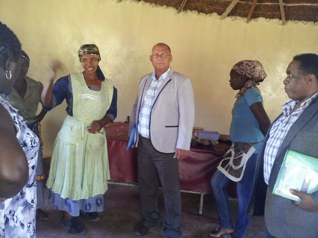 Members of the Eastern Cape Provincial Legislature's Portfolio Committee on Education have been conducting their annual visits to schools on the province for the past two weeks.  On Thursday, 24 January the committee met with parents and teachers of the Dumsi Senior Secondary School in Ntabankulu in the Lusikisiki-district.  In die middle is Edmund van Vuuren (MPL), DA Shadow MEC for Education, and on the far right is Mzoleli Mrara (MPL), the committee chairperson.  A report on the findings and recommendations of the committee will be tabled in the Bhisho legislature in March.