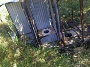 Bulugha School toilets.