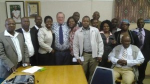 Caption: A better understanding: DA MPL Veliswa Mvenya and councillors from the Phesheya Kwenciba Constituency paid a recent visit to Baviaans Municipality, with them in this photo is Baviaans Municipality Mayor Ewald Loock.