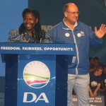 DA Eastern Cape provincial chairperson Veliswa Mvenya MPL and provincial leader Athol Trollip MPL.