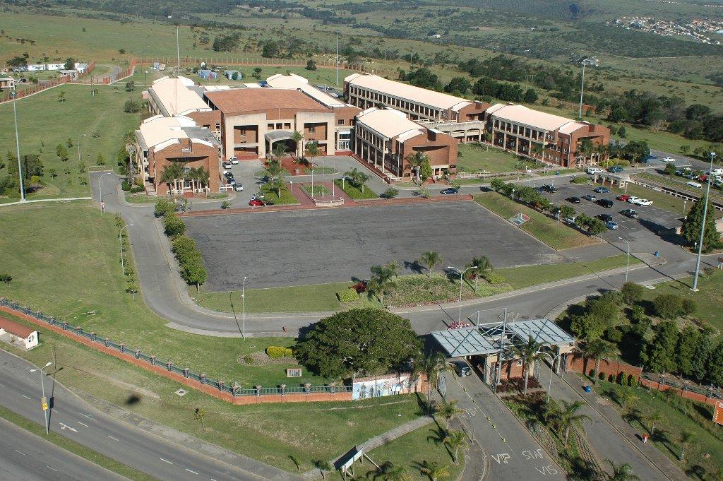 Aerial view of the EC Legislature