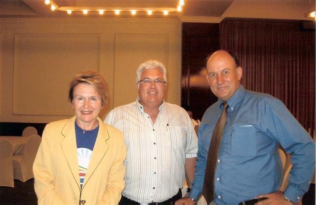 Leader of the DA EC Legislature, Bobby Stevenson, with DA leader, Helen Zille