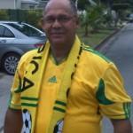 Great Bafana Bafana supporter, Edmund van Vuuren