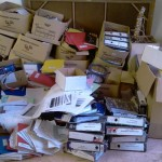"Recycling plant?  Actually it is the ""filing system"" at the Inkwanca Municipality offices in Molteno, as discovered by the DA Leader in the Chris Hani district constituency, MPL John Cupido."