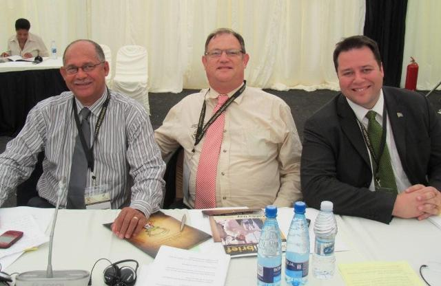The annual Taking Legislature to the People was held in Alice from 5-7 October.  For highlights read the Bhisho Brief special edition available on this website from Friday 8 October.  Pictured above are DA MPLs Edmund van Vuuren, Dacre Haddon and John Cupido attending the event.