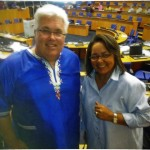 Bobby Stevenson, DA Eastern Cape Legislature Leader attended the party's Federal Council meeting in Cape Town last weekend. With him is Patricia de Lille, Western Cape MEC for Social Development