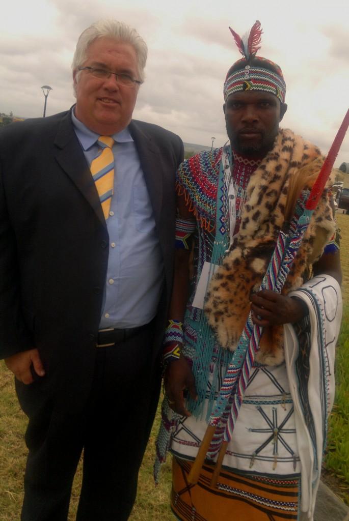 DA Eastern Cape Legislature Leader Bobby Stevenson attended the opening of the House of Traditional Leaders in Bhisho on Thursday, 3 March.