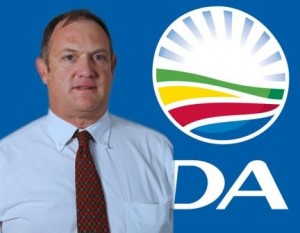 DA MPL Dacre Haddon continues to pursue the issue of sanitation and water shortages in the province