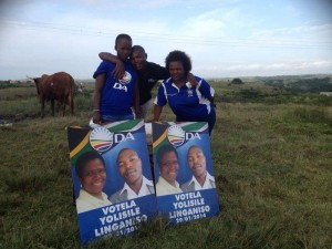 : One of five wards in which the by-elections took place was ward 29 in Mbashe, Ntembeni