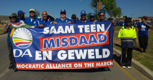 Anti gang march 21 March 2014