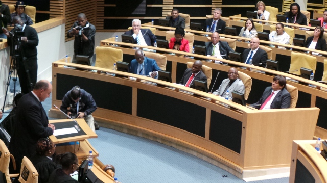 Provincial leader Athol Trollip delivers his first speech on behalf of the DA as official opposition in the Eastern Cape Legislature's fifth democratic term on Wednesday.